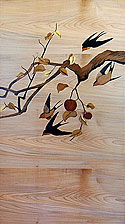 Marquetry Panels by Matthew Werner